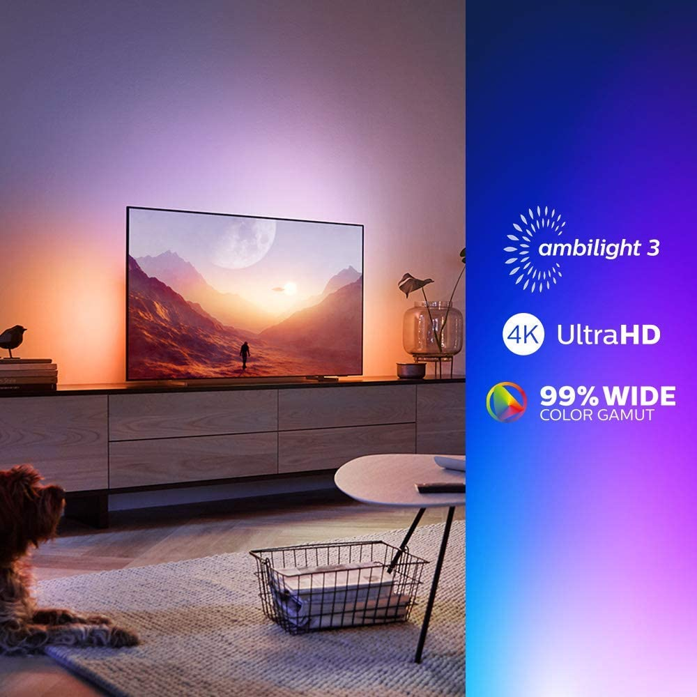 Philips Ambilight 55OLED804 55 Zoll(139cm) 4K UHD OLED TV HDR10+ Android TV Google Assistant Alexa kompatibel für 1199 Euro