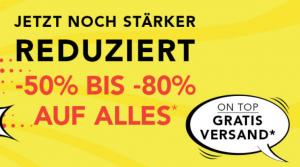 dress-for-less.de: 25% Rabatt auf ALLES